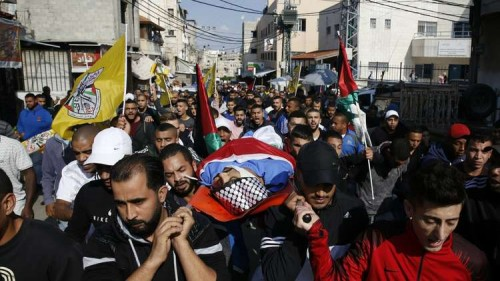 استشهاد فلسطيني من ذوي الاحتياجات الخاصة برصاص الاحتلال