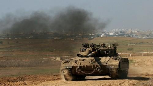 توغل وحدات الجيش الإسرائيلي بغزة وسط إطلاق نار
