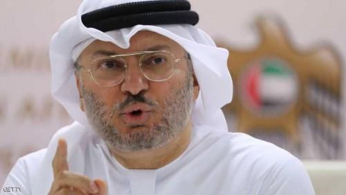 قرقاش: الأزمة ستنتهي حينما تتوقف قطر عن دعم التطرف