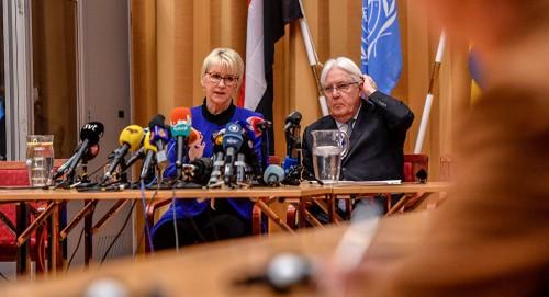 بعد المؤتمر الصحفي.. انطلاق أولى جلسات المشاورات في السويد