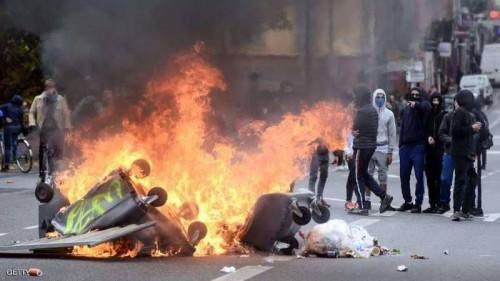 بسبب الاحتجاجات..  تأجيل 6 مباريات بالدوري الفرنسي
