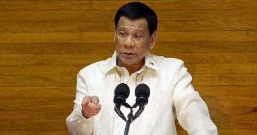 الرئيس الفلبيني يدعو البرلمان لمد فترة الحكم العرفي