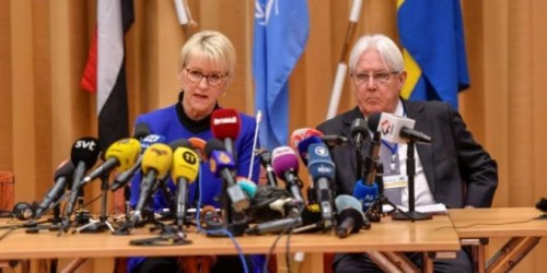 شرط تعجيزي من وفد الحكومة للحوثيين في مفاوضات السويد