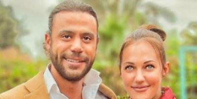 """"""" منور يا نجم أنت والقمر """" .. شاهد لقاء محمد إمام بالنجمة التركية مريم أوزرلي"""
