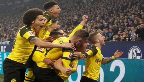 بروسيا دورتموند يفوز على شالكة في ديربي ألمانيا
