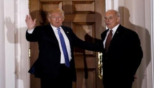 """لخلافاته مع """"ترامب"""" كبير موظفي البيت الأبيض يرحل بنهاية العام"""