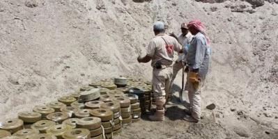 إيران تمد ميليشيات الحوثي بالألغام (انفوجراف)