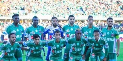 الرجاء المغربي يواصل الاستعداد لمواجهة الاسماعيلي في كأس زايد