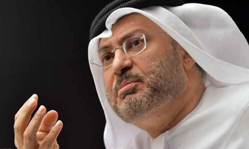 قرقاش: على الرغم من أزمة قطر.. عملنا مستمر