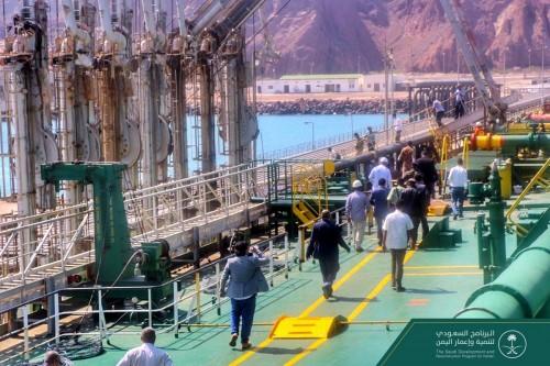 الدفعة الثانية من المنحة السعودية بالمشتقات النفطية تصل عدن
