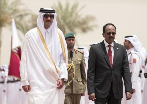 احتجاز رئيس البرلمان الصومالي بأمر رئيس الدولة الموالي لقطر
