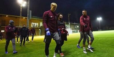 ليفربول ينهي استعدادته لملاقاة نابولي غداً في دوري أبطال أوروبا