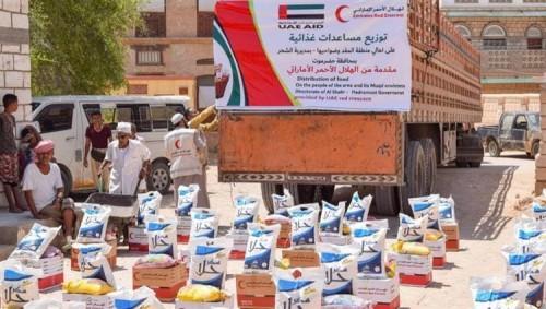 """بالأرقام.. تعرف على إنجازات """"عام زايد"""" في اليمن (تفاصيل)"""