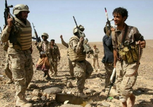 شاهد.. صورة توضح حقيقة المعارك قرب المجمع الحكومي في باقم