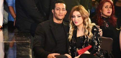 ظهور خاص لمحمد رمضان وزوجته في ختام ديفيليه هاني البحيري