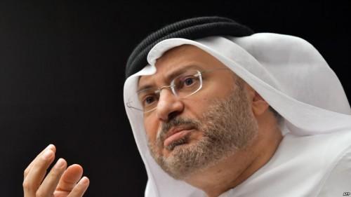 قرقاش: اعتدنا على ازدواجية وانتهازية السياسة القطرية