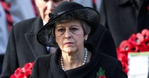 اقتراع لسحب الثقة من رئيسة الوزراء البريطانية