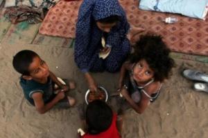 الأمم المتحدة: 7 ملايين طفل يمني ينامون وهم جياع