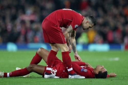 إصابة صادمة لنجم ليفربول