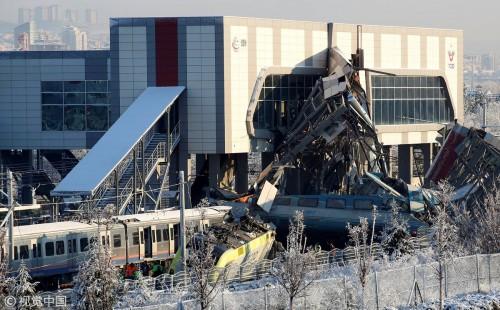 """بعد حادث القطار.. هاشتاج """"أنقرة"""" يشعل تويتر"""