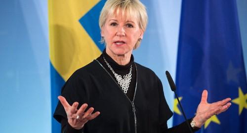 وزيرة خارجية السويد: عرض نتائج مشاورات اليمن غداً على مجلس الأمن