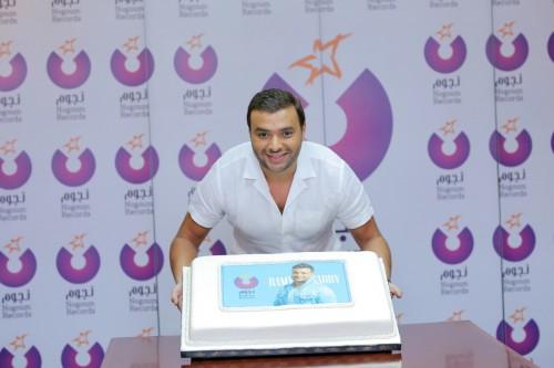 رامي صبري يوقع عقد ألبومه مع شركة نجوم ريكوردز