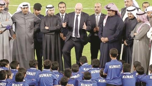 أزمة كروية في الكويت بسبب التغيير الرابع