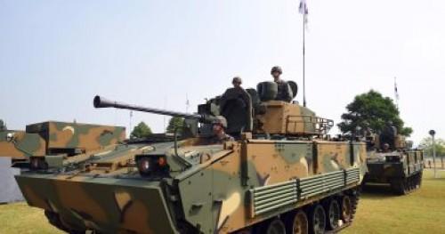 اليابان تحتج على تدريبات عسكرية كورية جنوبية في جزر تاكيشيما