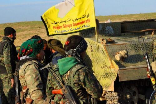 """قوات سوريا الديمقراطية تحرر """"هجين"""" من داعش"""