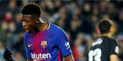 قرار غريب من برشلونة تجاه لاعبه