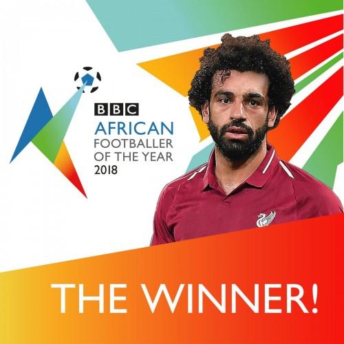 رسمياً.. «BBC» تعلن فوز محمد لاح بجائزة أفضل لاعب إفريقي