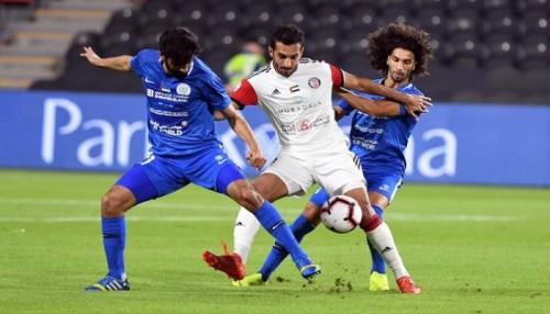 الجزيرة يفوز على النصر 3-1 في الدوري الإماراتي