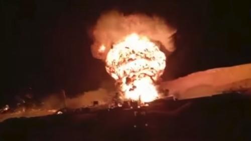 """نشوب حريق بأحد آبار البترول في مصر """"تفاصيل"""""""