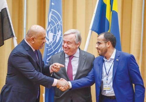 أول تعليق من العراق على مشاورات السويد بشأن اليمن