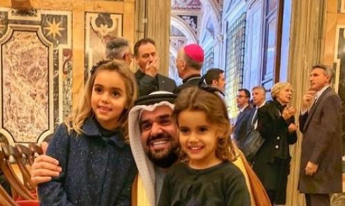 بالصور.. جولة حسين الجاسمي بالفاتيكان