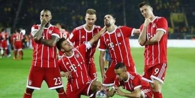 بايرن ميونيخ يفوز برباعية نظيفة على هانوفر في الدوري الألماني