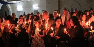 إسرائيل تمنع مسيحي غزة من المشاركة في أعياد الميلاد
