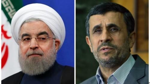 """""""روحاني"""" يحمل """"نجاد"""" مسؤولية فشل نظامه"""