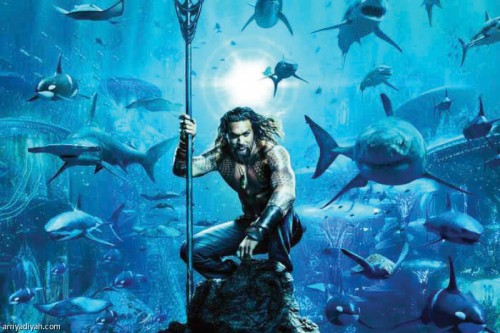 فيلم Aquaman يحصد 180 مليون دولار في الصين حتى الآن