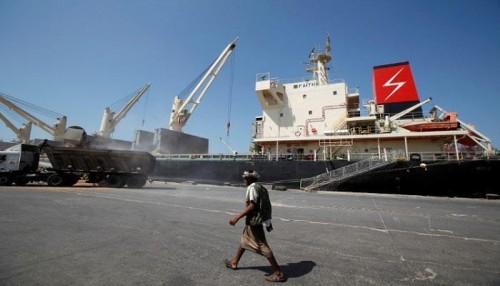 التحالف: إصدار 19 تصريحا لسفن متجهة للموانئ اليمنية