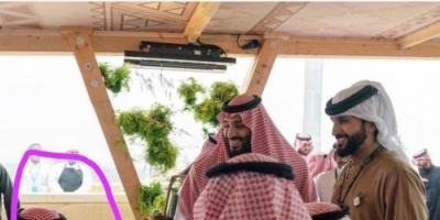 """شاهد ظهور نادر للأمير الصغير سلمان برفقة والده ولي العهد السعودي """"فيديو"""""""