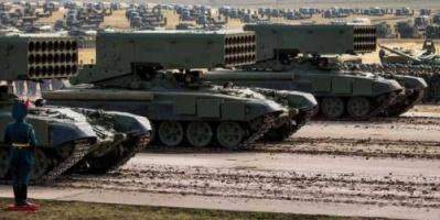مخاوف أوكرانيه من الحشد الروسي على حدودها