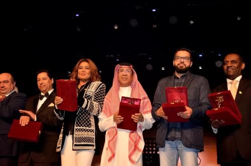 ماذا قال السعودي ناصر الصالح عن تكريمه في مهرجان الإسكندرية للأغنية؟