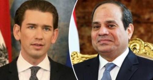 مستشار نمساوي: يسرنى الاجتماع بالرئيس السيسي في جلسة عمل