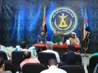 المجلس الانتقالي ينشر كلمة الجعدي في اللقاء الذي نظمته دائرة الشهداء