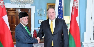 الخارجية الأمريكية تنشر صورة تجمع بين وزيرها ونظيره العماني