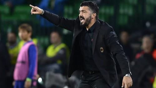 ميلان الإيطالي يمهل جاتوزو مهلة لمدة شهر لانقاذ الفريق