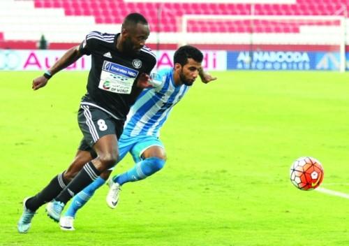الفجيرة يفوز على النصر في الدوري الإماراتي