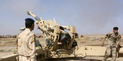 المدفعية العراقية تقصف معاقل لتنظيم داعش الإرهابي