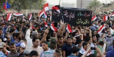 متظاهرو البصرة يقطعون الطرق المؤدية لمبنى المحافظة